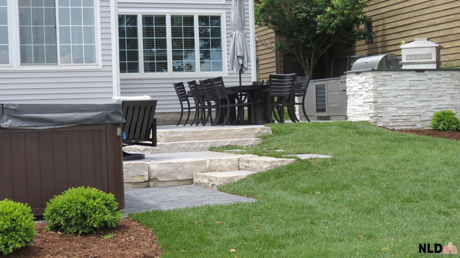 Mulit level patio